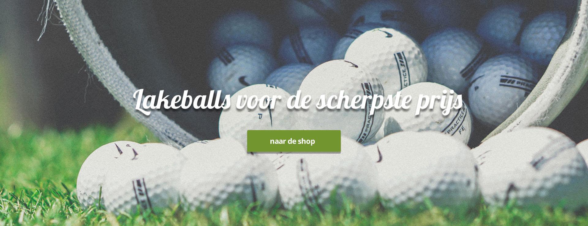 Goedkope lakeballs golfballen online kopen